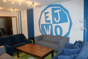 Neue Wandgestaltung beim Ev. Jugendwerk
